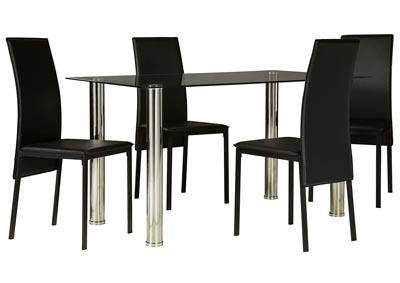 Here's a very solid dining set with bench
