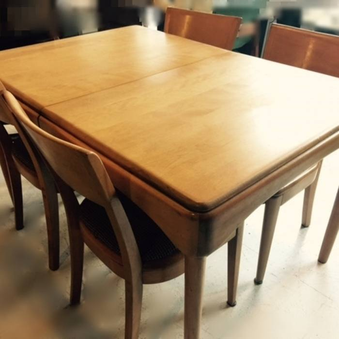 heywood wakefield dining chair dining room set they are stamped m and sable  any heywood wakefield
