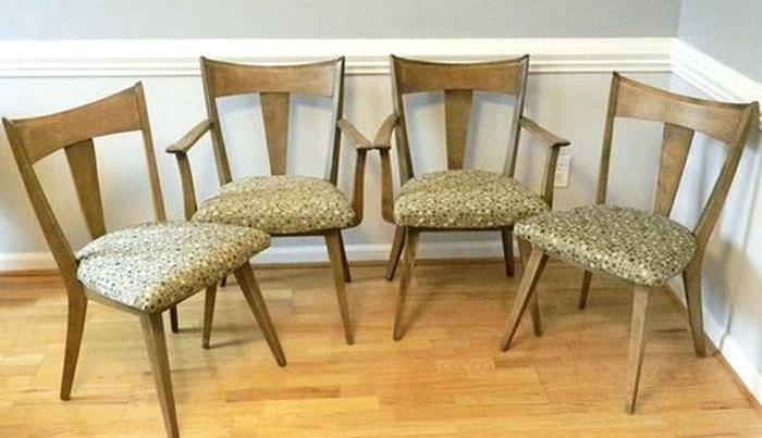 heywood wakefield dining chairs dining table heywood