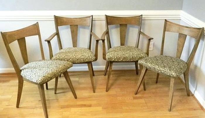 heywood wakefield dining chairs dining table heywood