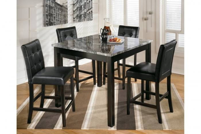 Skempton Dining Room Table and Chairs (Set of 7),